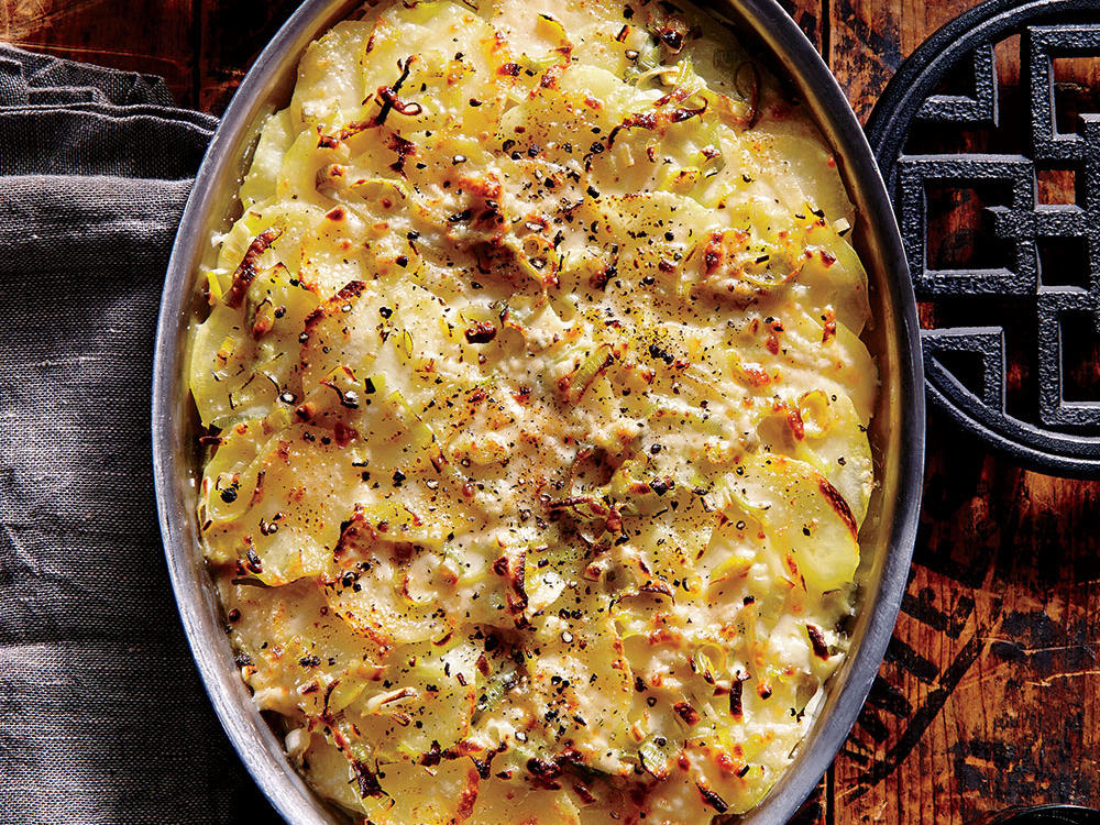 Potato and Leek Casserole <br><i>(Joan Ashlock)</i>